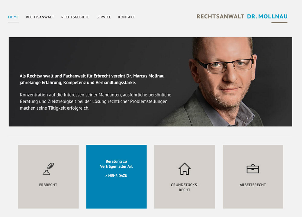 Kanzleiwebsite Pixelbasis Webdesign Berlin Wilmersdorf